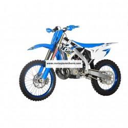 Casco LS2 MX437 Fast Block Negro /Verde