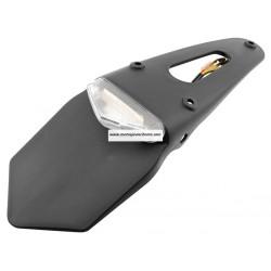 Portamatrículas universal Enduro transp. 6+3 LEDS